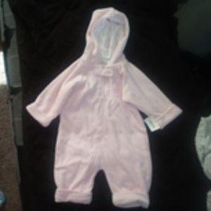 Baby Girl Winter Bodysuit